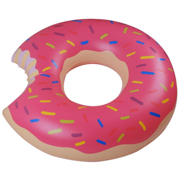 Flotador donut fresa o chocolate sweetcoquette for Grosse piscine gonflable