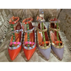 SLIPPERS ROCKSTUD MULTICOLOR