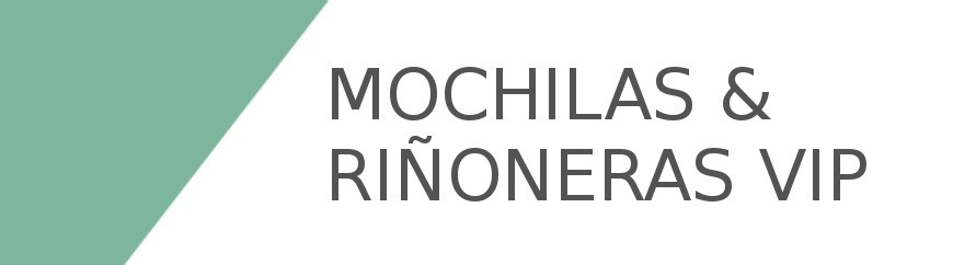 Mochilas & Riñoneras VIP